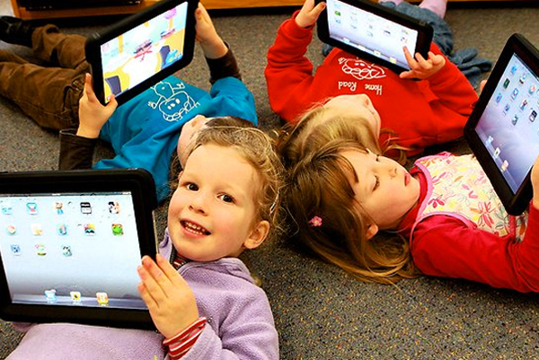 Kids and iPad usage
